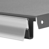 20 x Scannerschiene Preisschiene Preisschild selbstklebend Regalschiene 40x60 mm