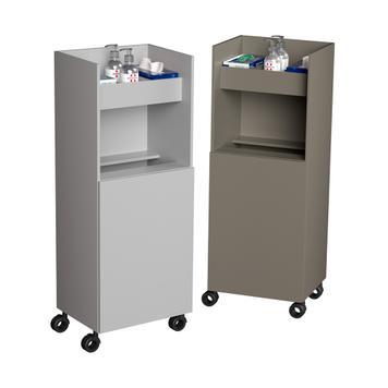 Hygiene-Rollschrank