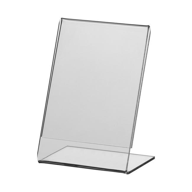 """Acryl-L-Ständer """"Klassik"""" in DIN-Formaten"""