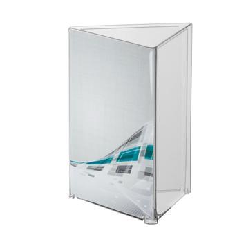 Acryl-Dreieck-Ständer DIN A4 – A6